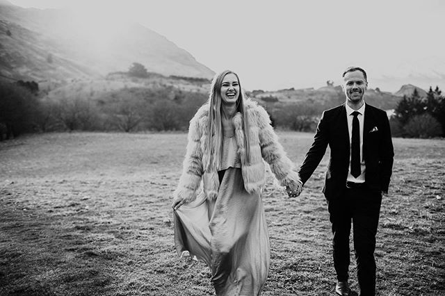 We may have been over in NZ Wanaka to capture Chris and Steph's wedding, but we also captured these two guests enjoying the afternoon as the sun was setting behind the mountains during the reception.  Weddings always bring out the love!
