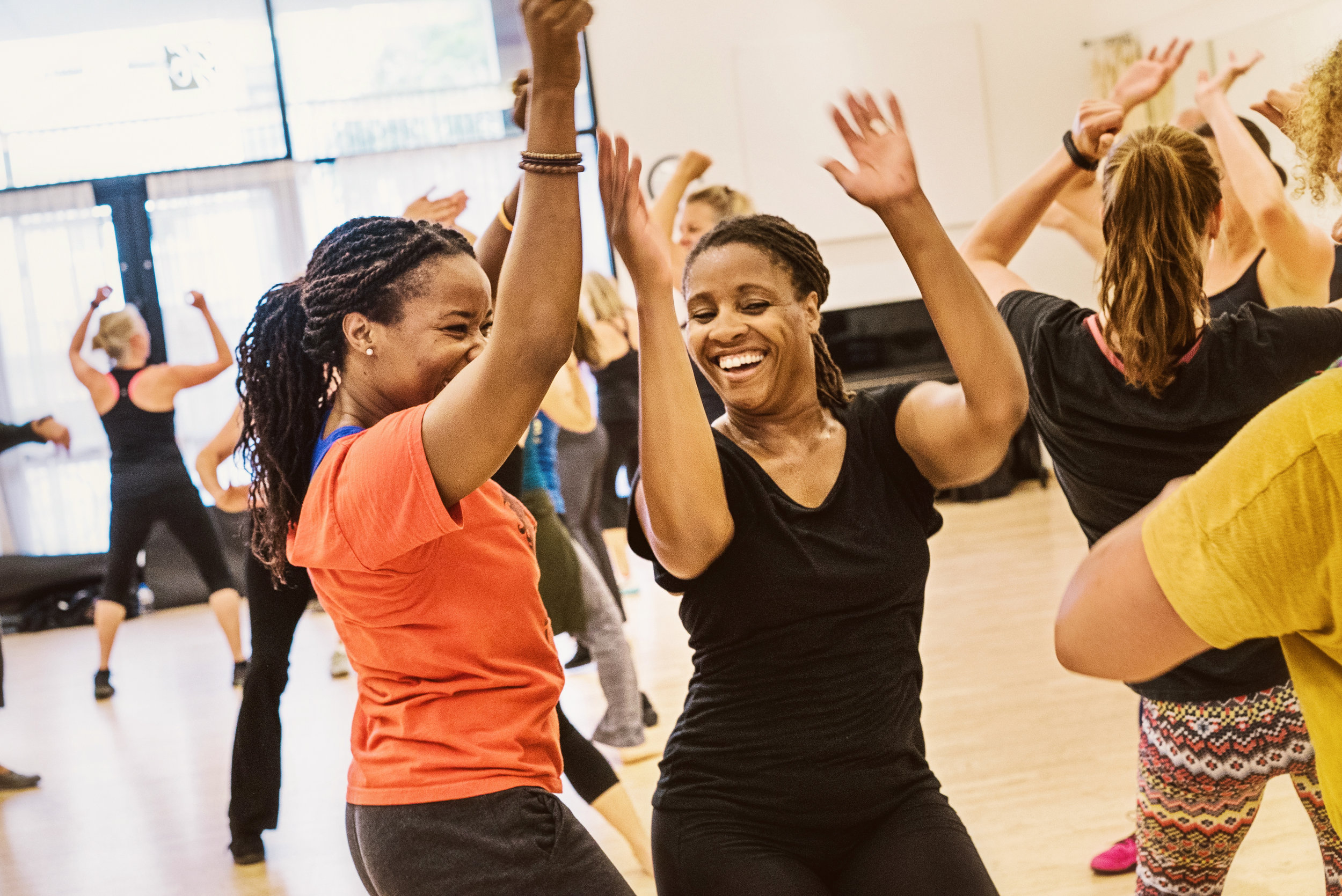 Rena Marie Guidry  teaching Rhythm & Motion   class, photo by Andrew Weeks