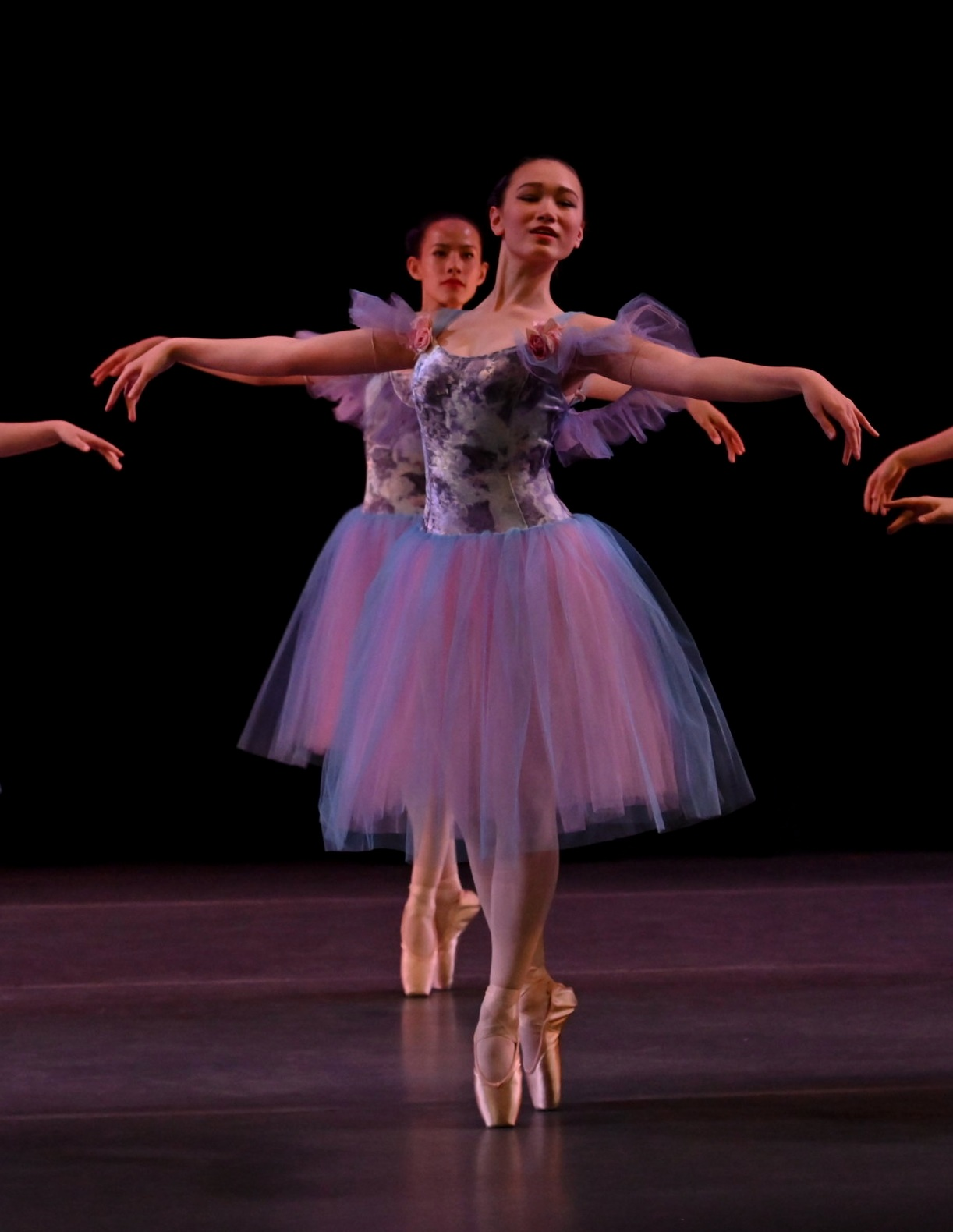 BBT Youth Division dancers  in Kaori Ogasawara's  Midnight Waltz,  photography by Natalia Perez