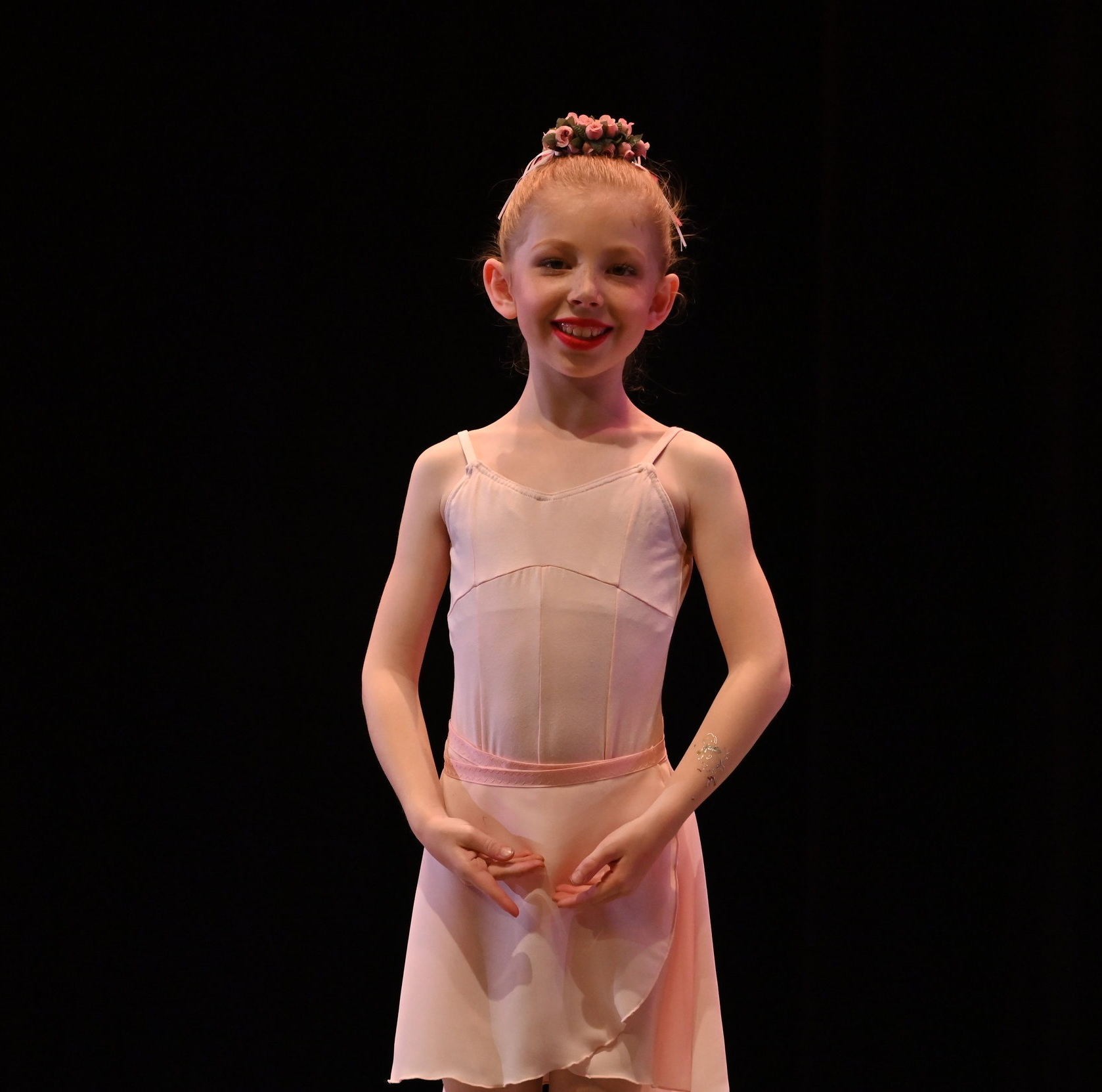 BBT Youth Division dancer  in Liz Farotte Heenan's  Little Briar Rose,  photography by Natalia Perez