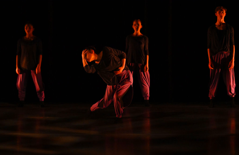 BBT Studio Company dancers  in Raymond Ejiofor's  Fractured Shades,  photography by Natalia Perez