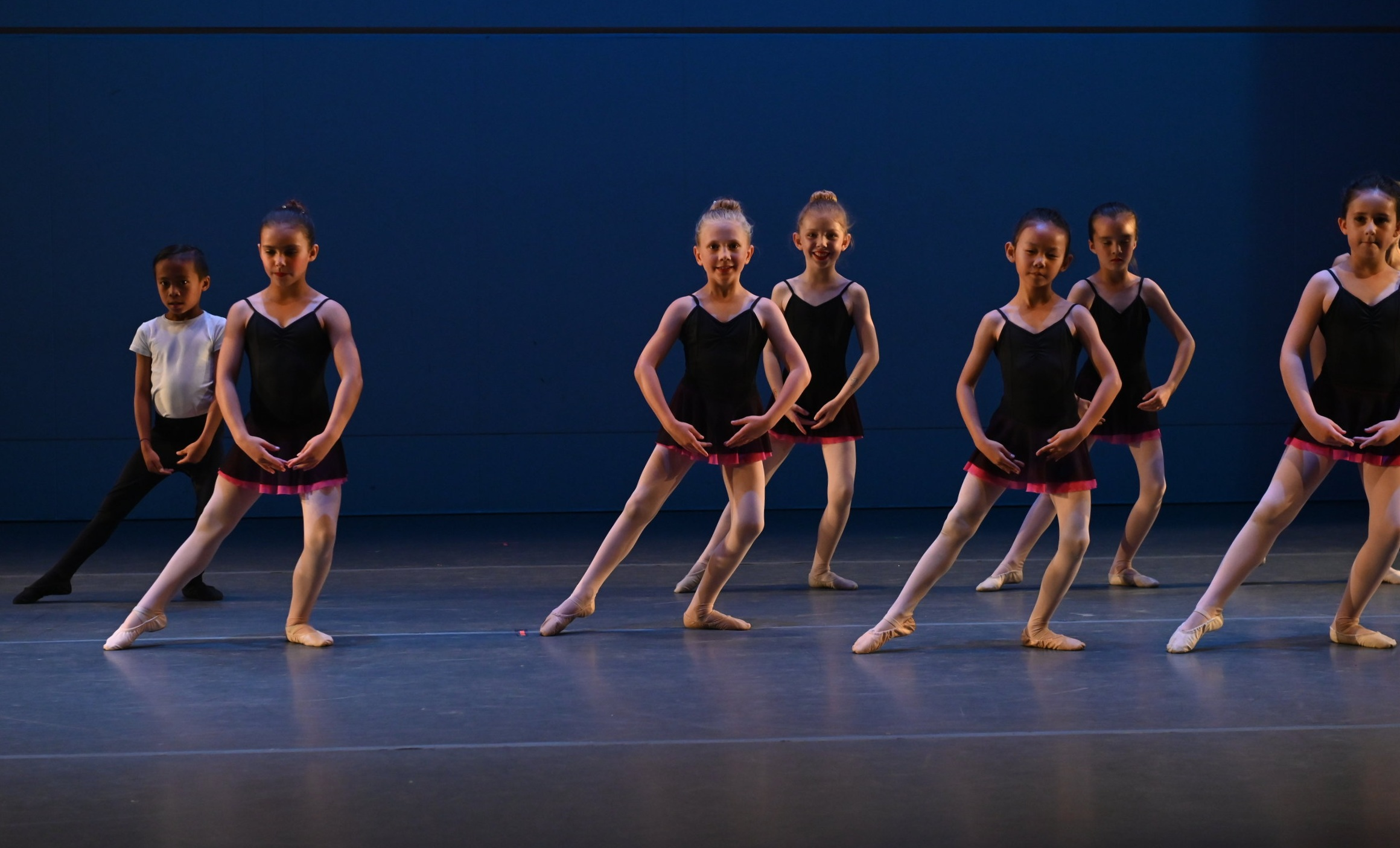 BBT's Youth Division dancers  in Robert Dekkers'  Rhapsody,  photo by Natalia Perez