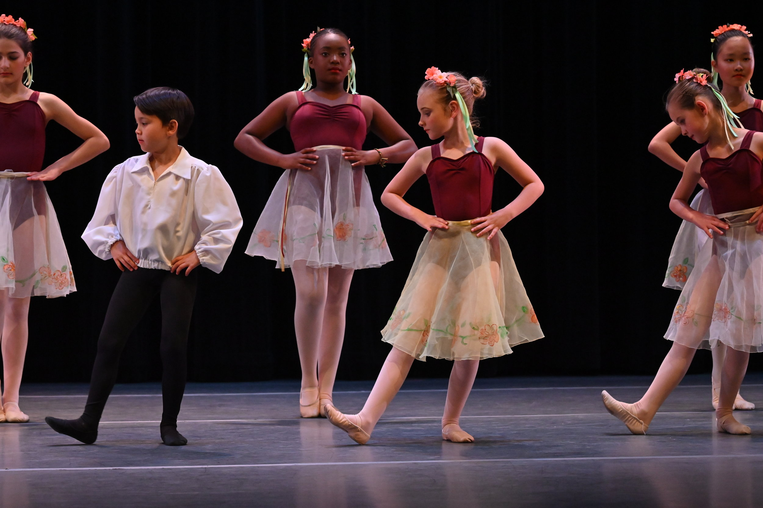 BBT's Youth Division dancers  in Claire Toner and Liz Farotte Heenan's  Mazurka Dolls , photo by Natalia Perez