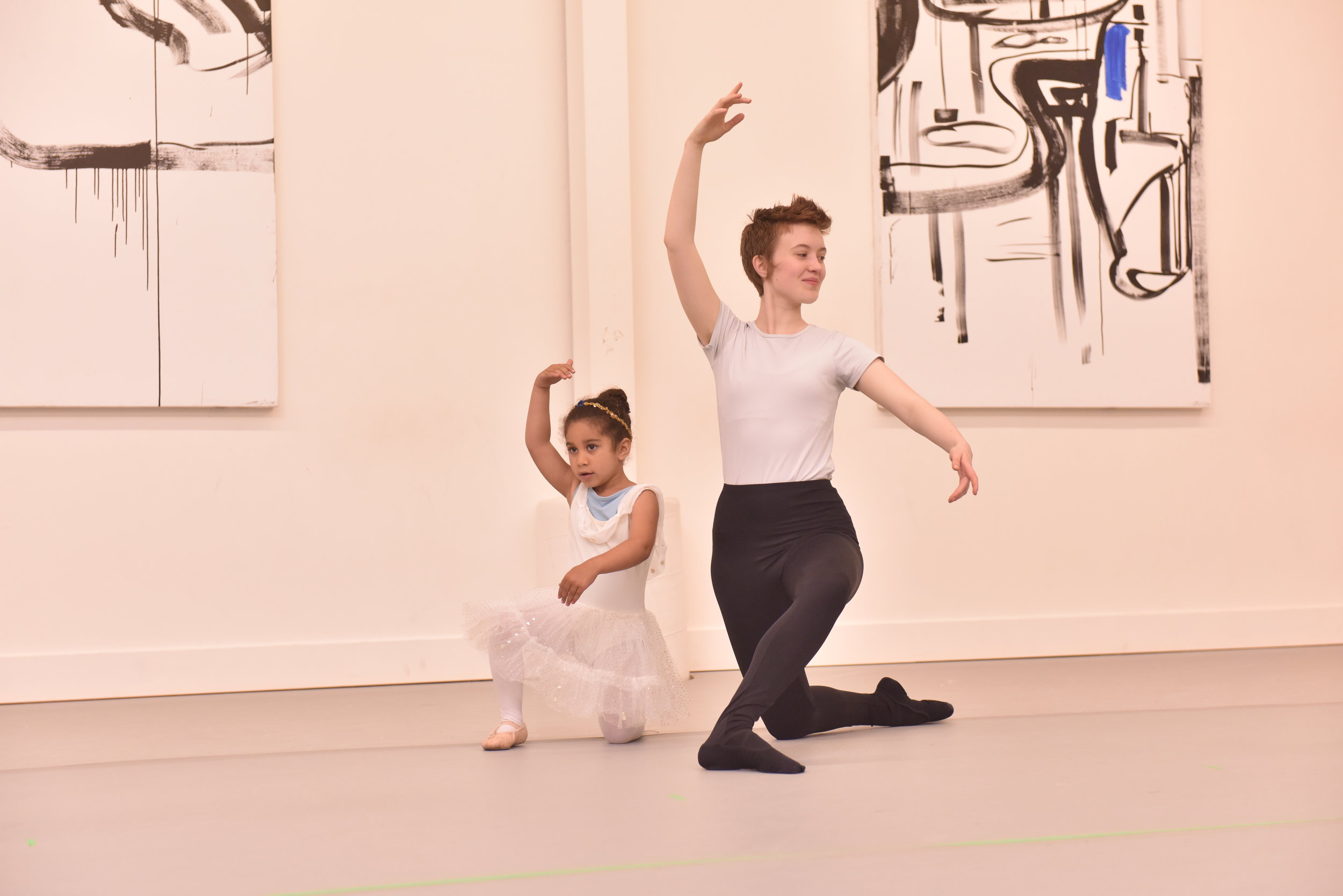 BBT Youth Division and Pre-Ballet dancers  in Rachel Caldwell's  The Princesses and the Pea , photo by Natalia Perez