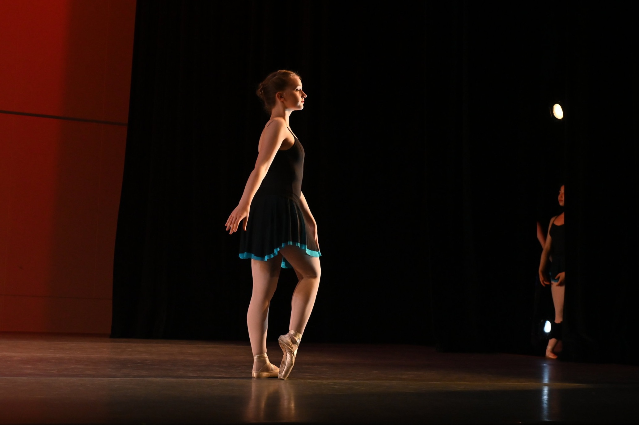 BBT Youth Division dancer  in Robert Dekkers'  Rhapsody,  photography by Natalia Perez