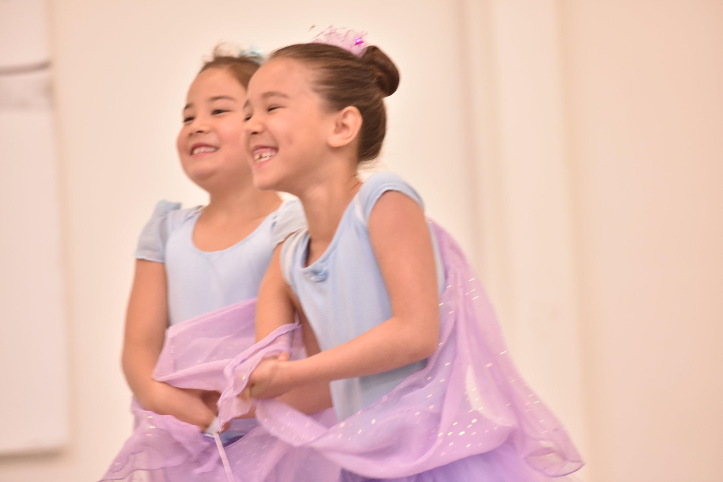 BBT Pre-Ballet Division dancers,  photo by Natalia Perez