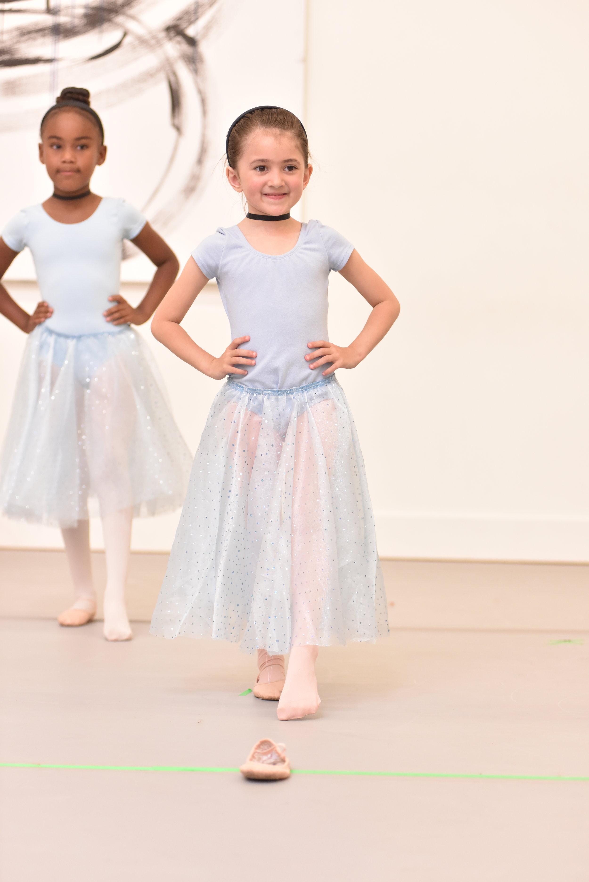BBT Pre-Ballet Division dancers  in Milissa Payne Bradley's  Bippity Boppity Boo  ,  photo by Natalia Perez