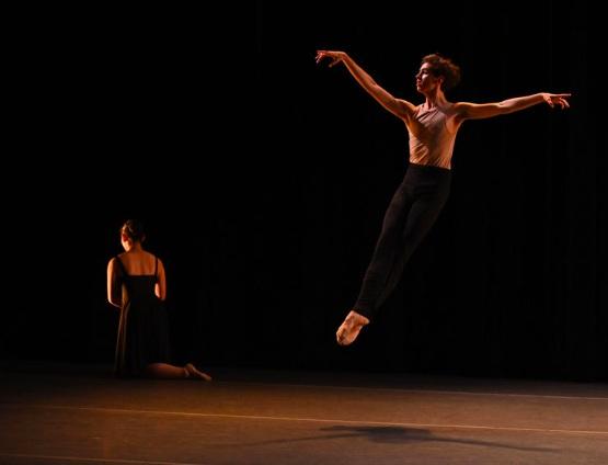 BBT Studio Company dancer and Men's Fellowship student  performing Sally Street's  Rondo Cappriccioso,  photo by Natalia Perez