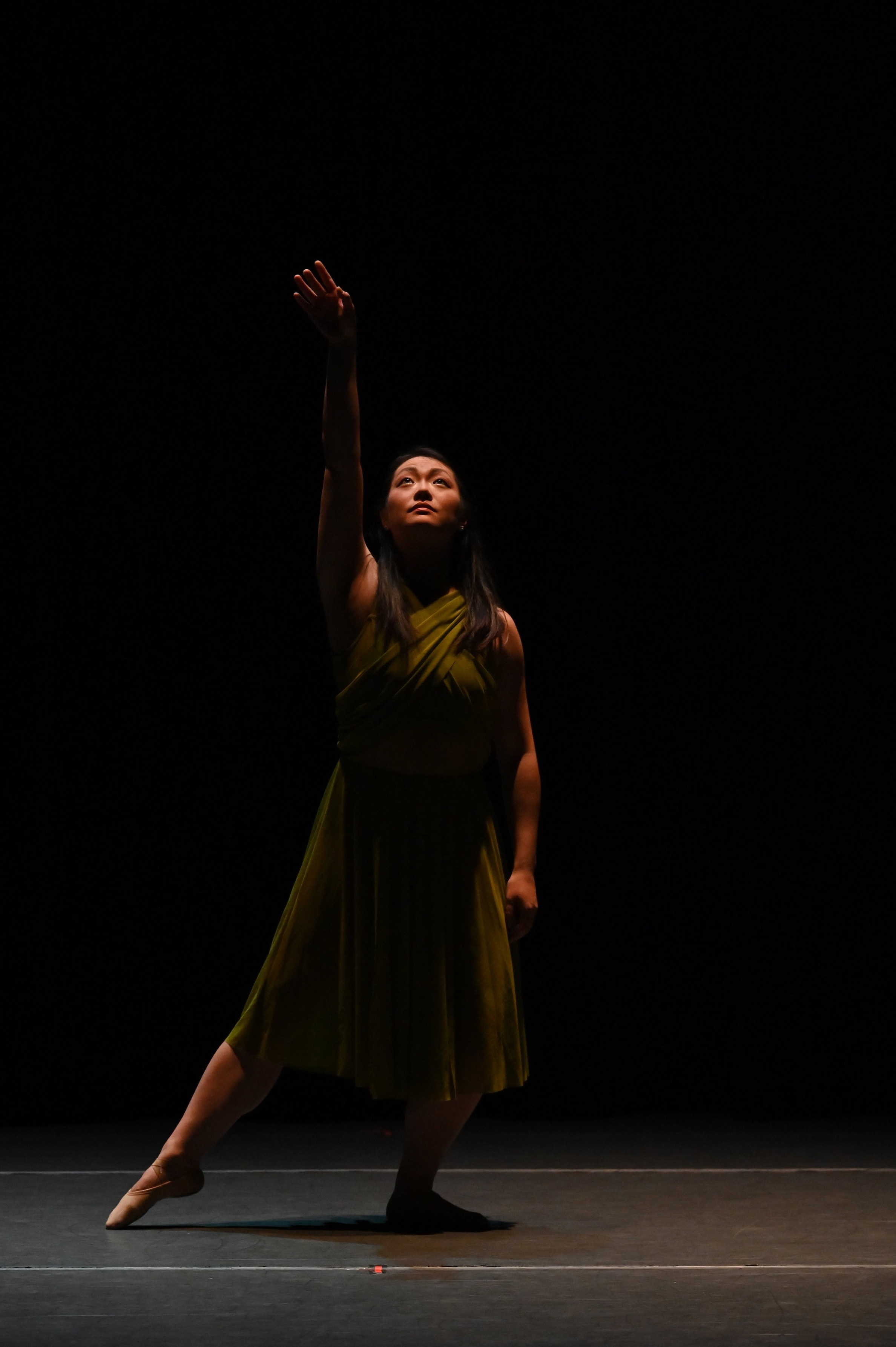 "BBT Adult Open Division dancer  in Kaori Ogasawara's ""In the twilight,"" photo by Natalia Perez"