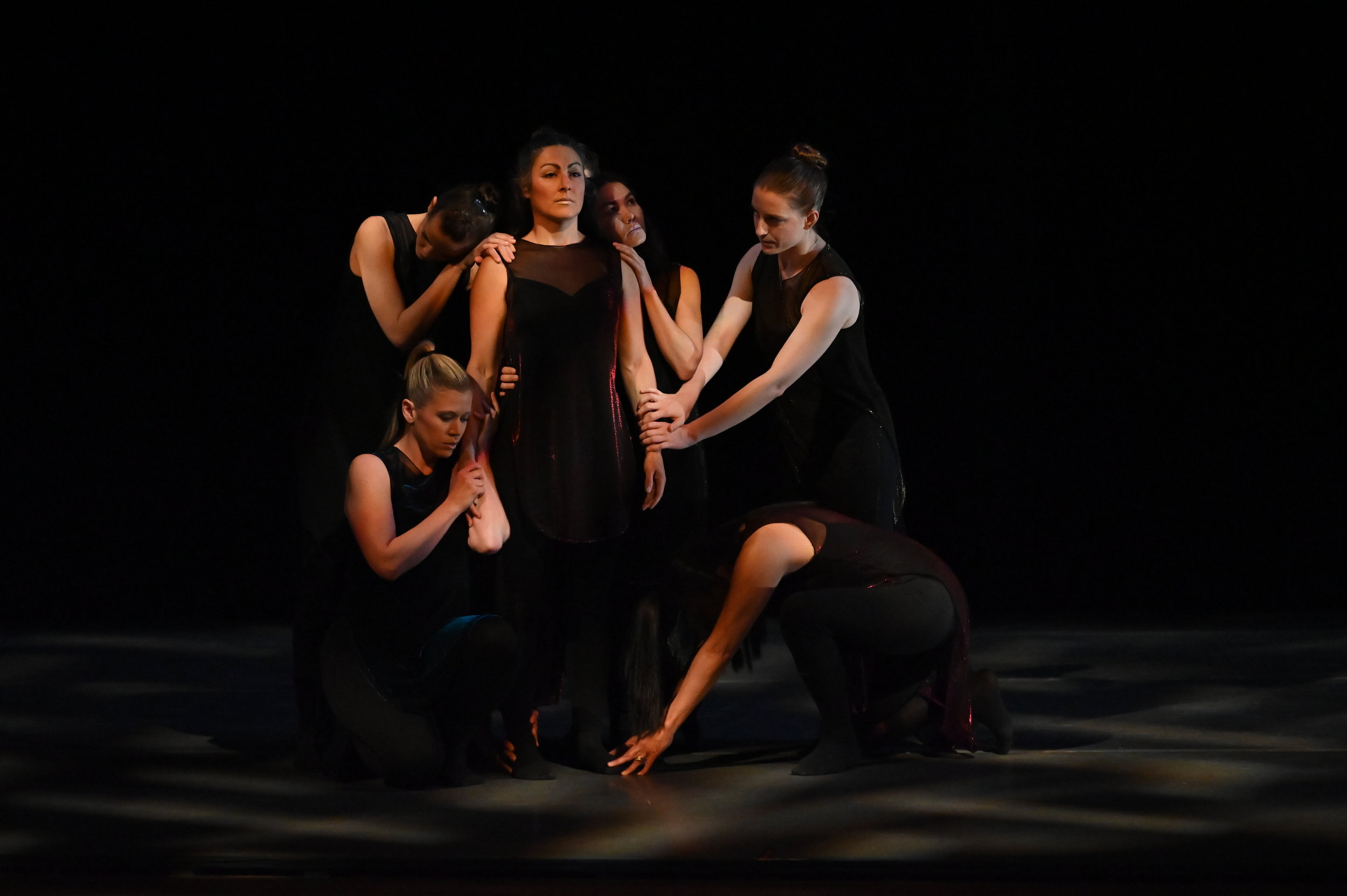 BBT Adult Open Division dancers  in Robert Dekkers'  On the Cusp of Change , photo by Natalia Perez