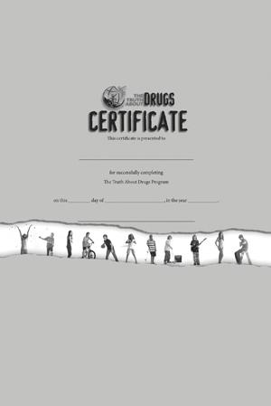 Student Certificate (black & white)