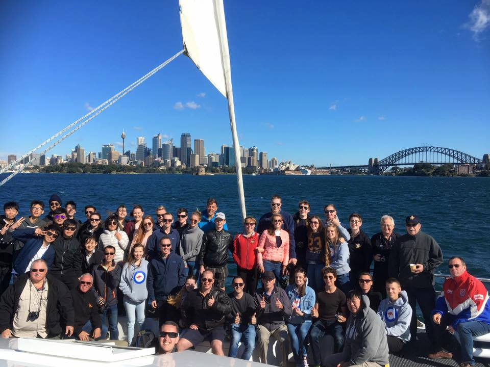 New Zealand Cadet Force personnel deployed to Sydney, Australia