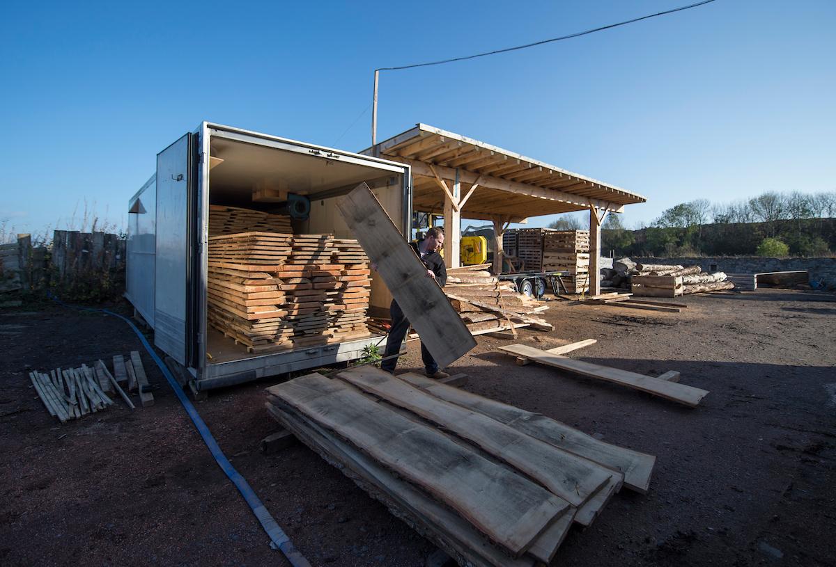 Timber selection - Image Graeme Hunter