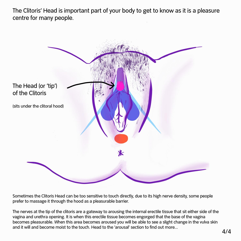 Over sensitive clitoris