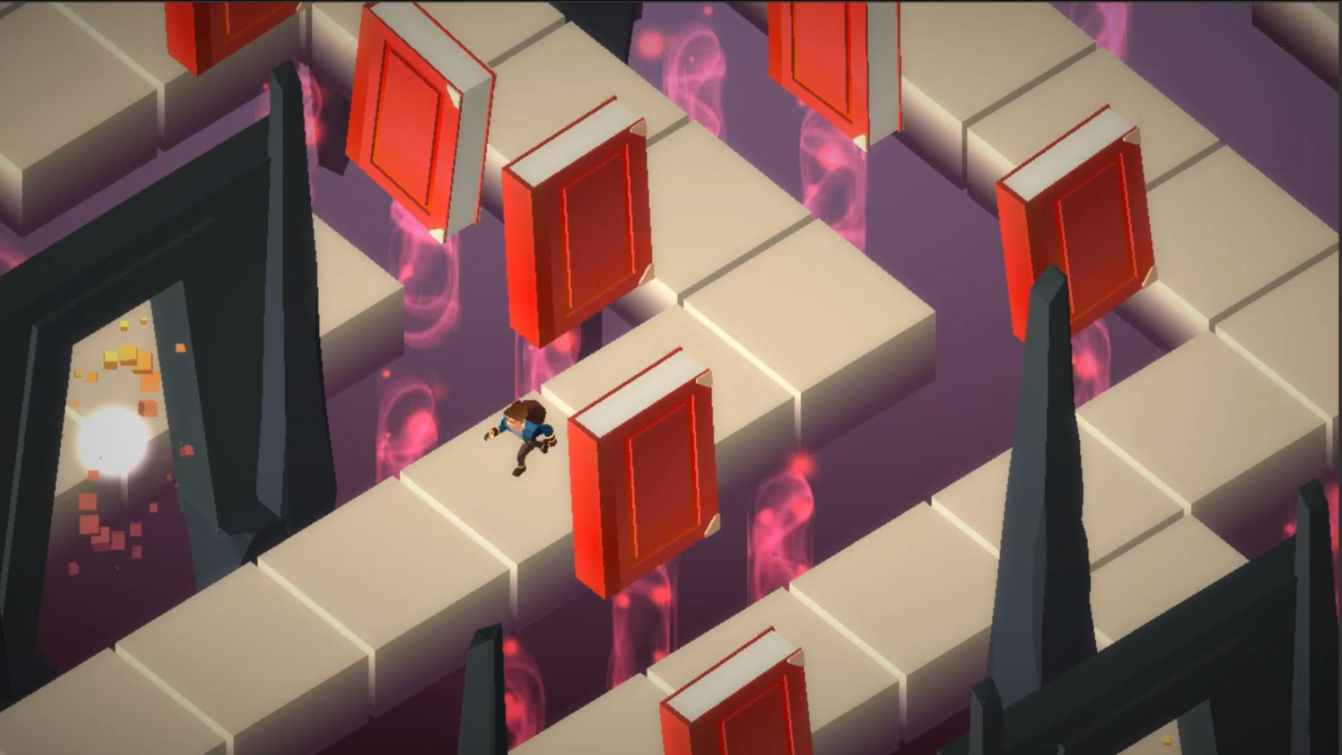 Maze of Magic book traps