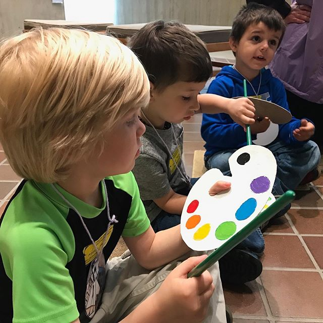 The KDT! T-burg Pre-K visits to the Johnson Museum of Art photos have been posted to the TEF Facebook page!