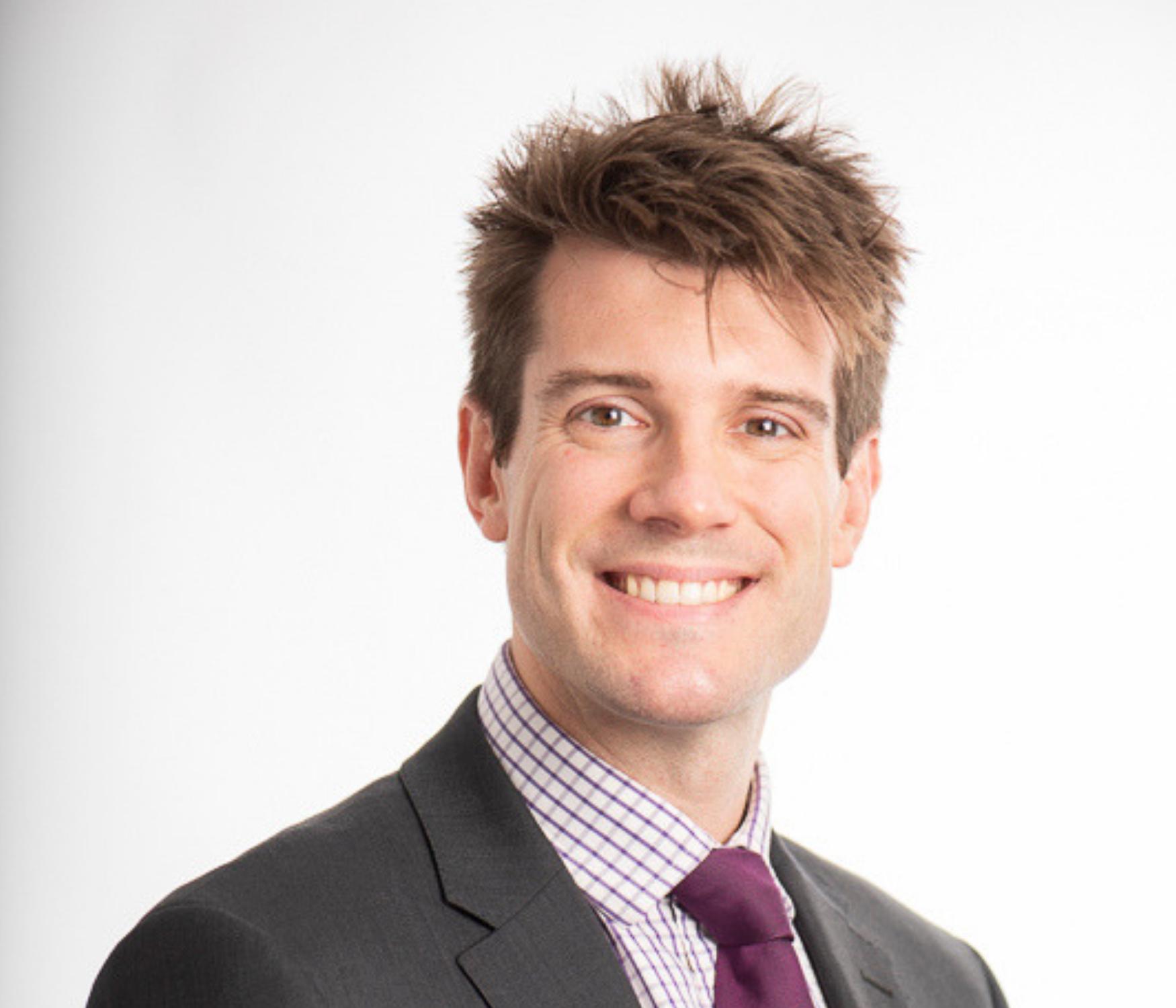 Owen Marsden becoming Associate Director