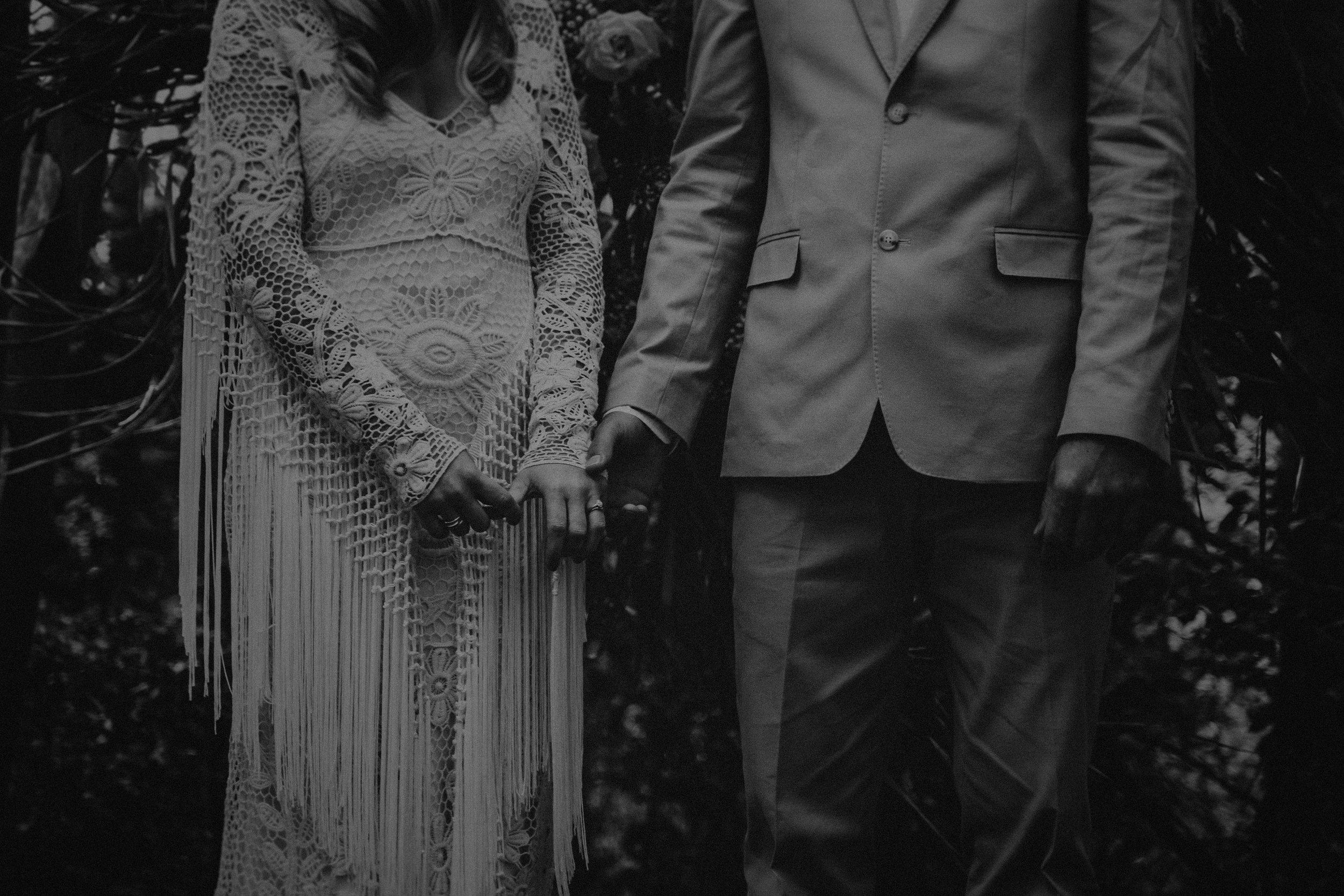 kings & thieves elopement wedding vegan photographers
