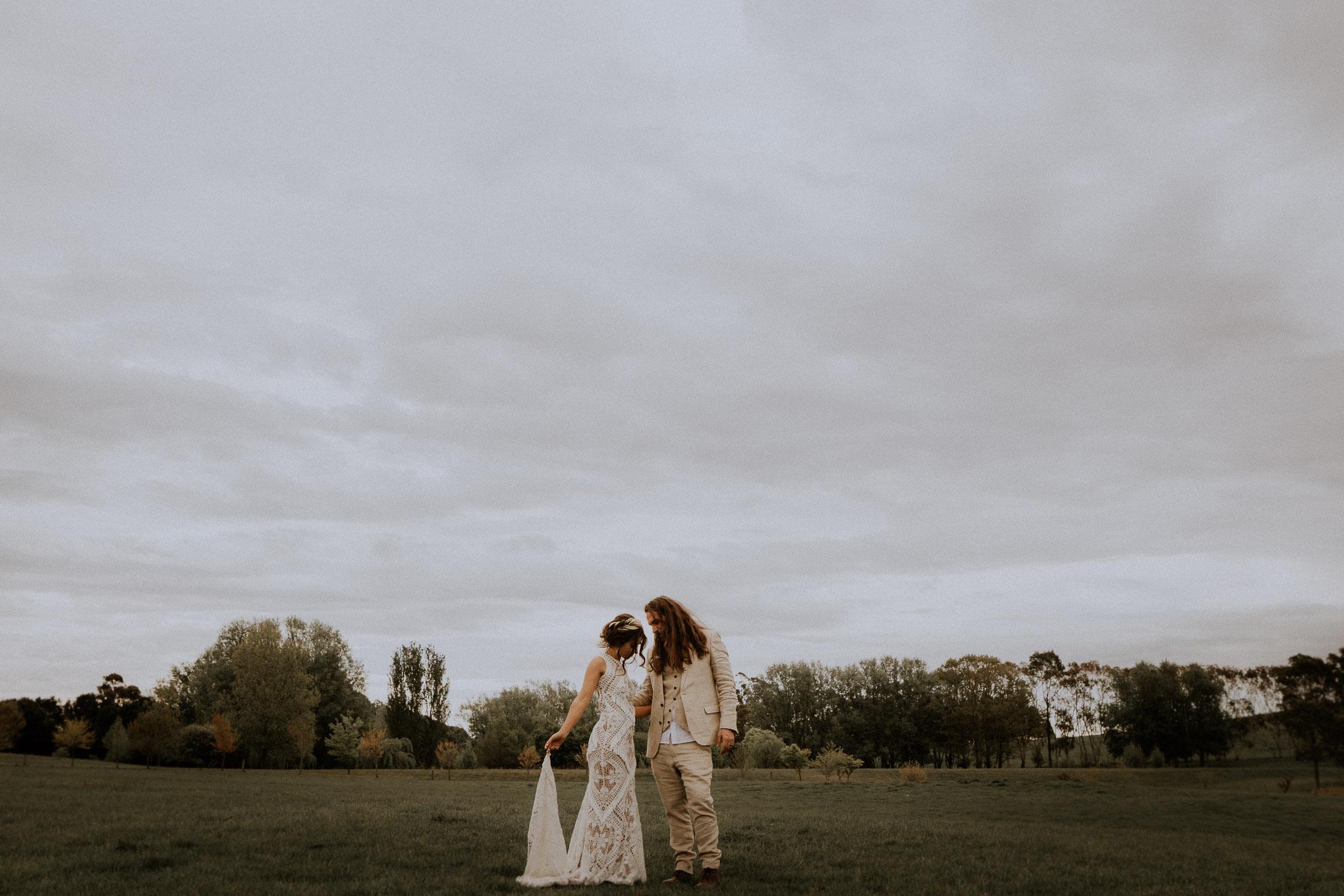 Epic bride and groom portraits at Waldara Farm Wedding Venue, Blue Mountains