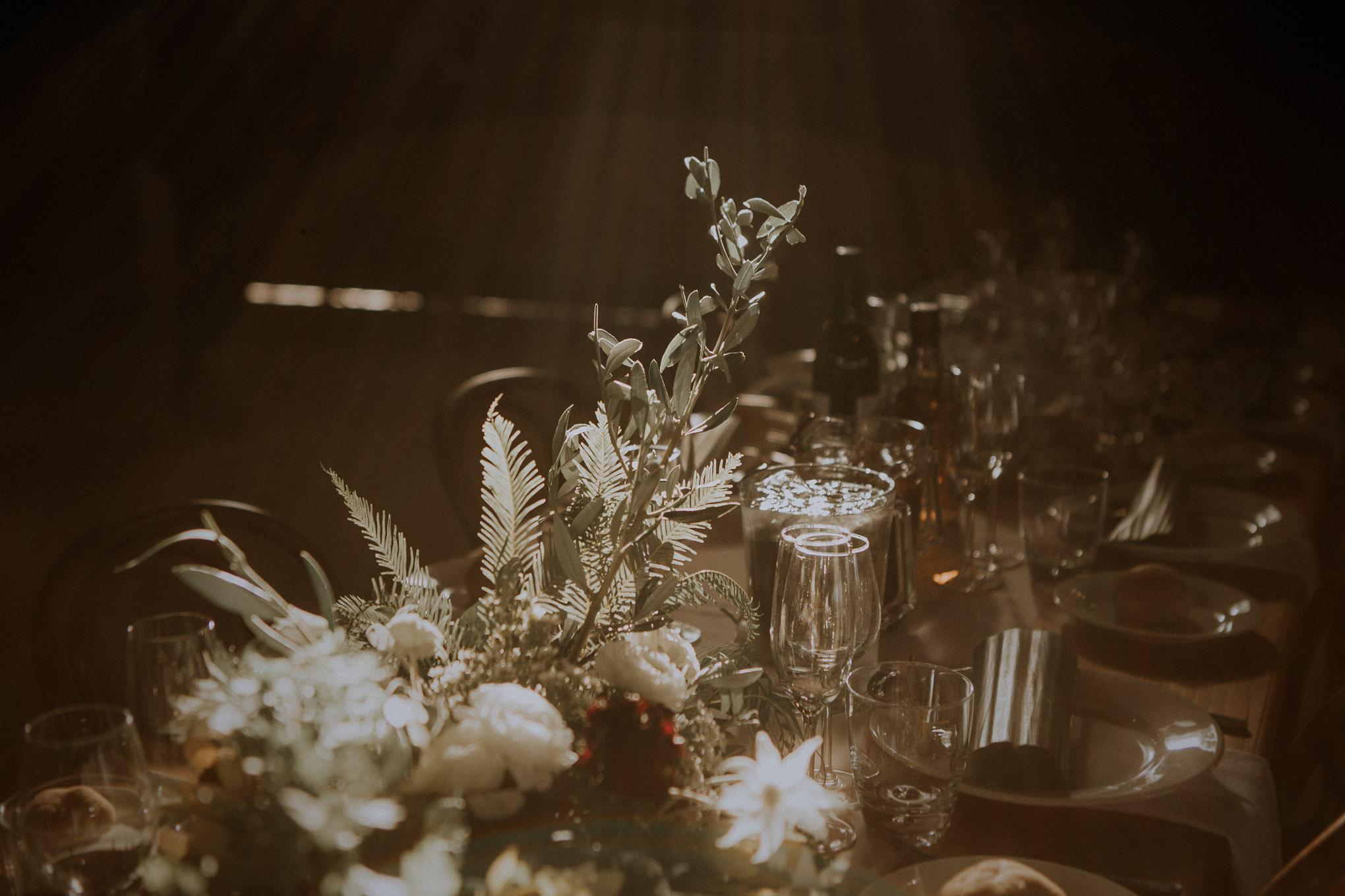 An afternoon wedding reception at Waldara Farm