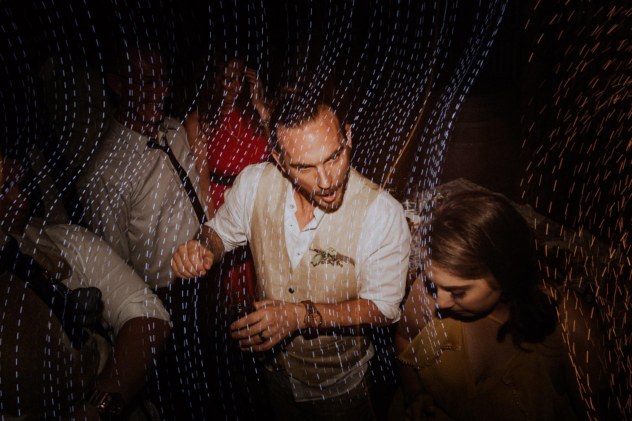 Wild wedding party and dope dancefloor shots
