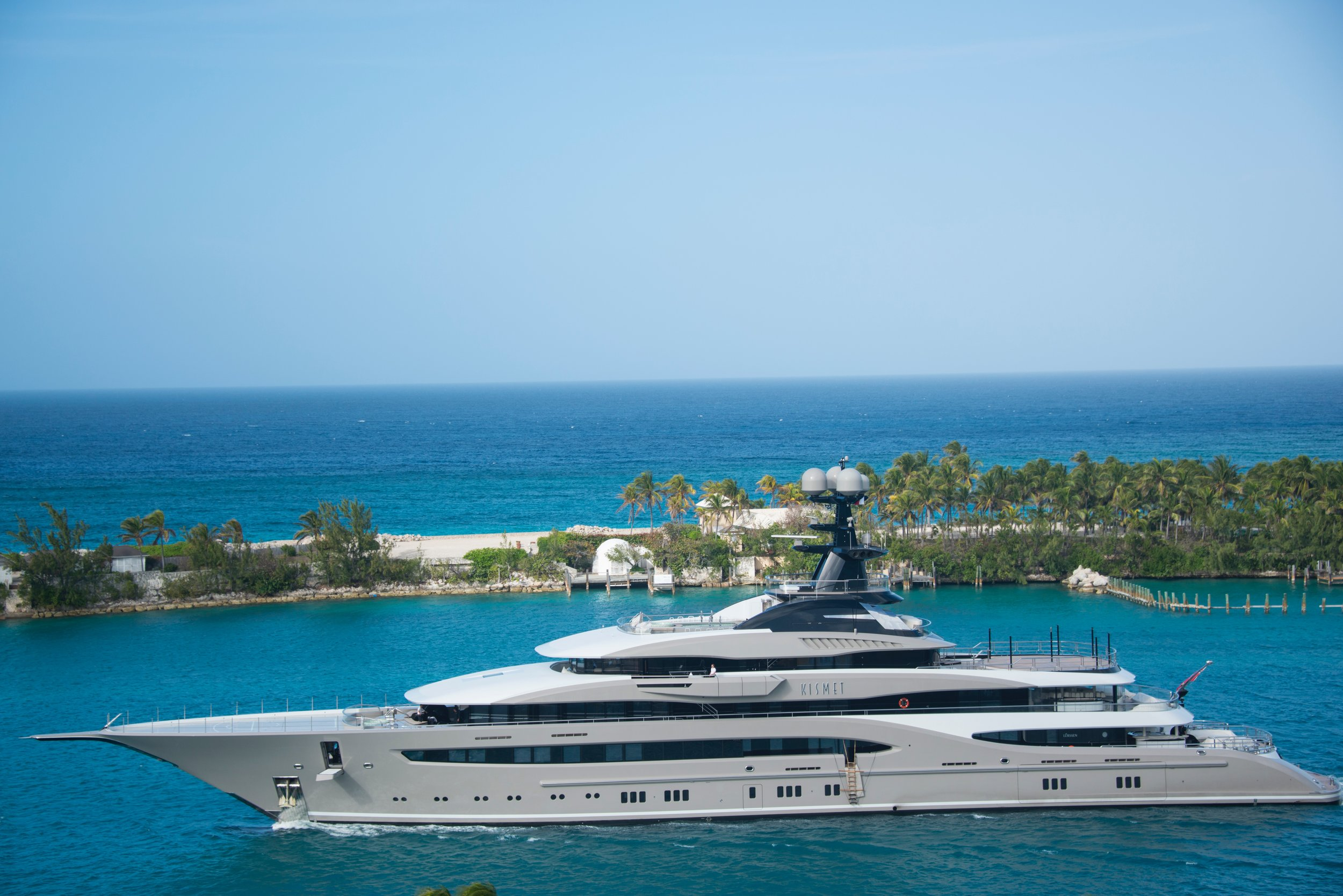 A Superyacht that has benefitted from great design