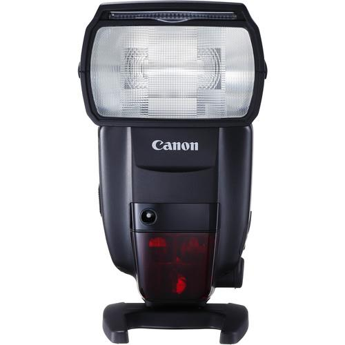 Flash –   Canon Speedlite 600EX II-RT   I rarely use - but it comes in handy. Especially this Speedlite that can be altered to bounce light off surfaces, and soften the harsh flash.