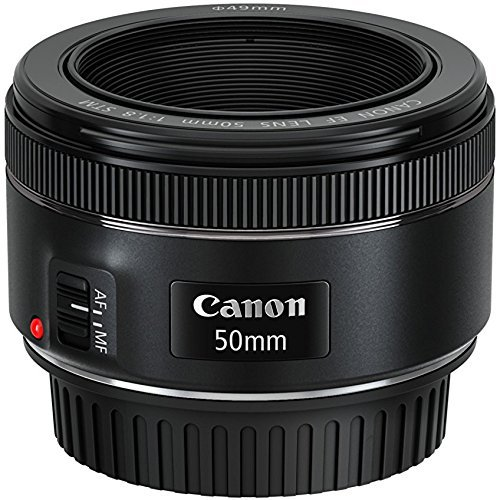 Prime –   Canon EF 50mm f/1.8 STM Lens   My go to lens of the past five years and a total bargain at just over £100. Perfect for close-up portraits.