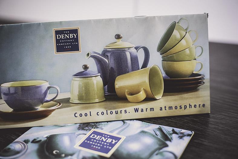 Agency : Acorn Creative  Client : Denby  Work : Artwork, amends, translations  Apps : QuarXPress, Photoshop