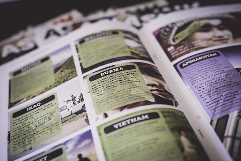 AsiaLink (non-profit charity) – Quarterly Magazine  Work : Design, artwork, art-direction, amends, typography, retouching  Apps : InDesign, Photoshop, Illustrator