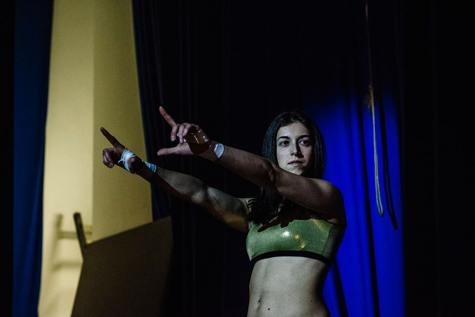 Laura Di Matteo is a dangerous in-ring competitor (photo: The Head Drop)