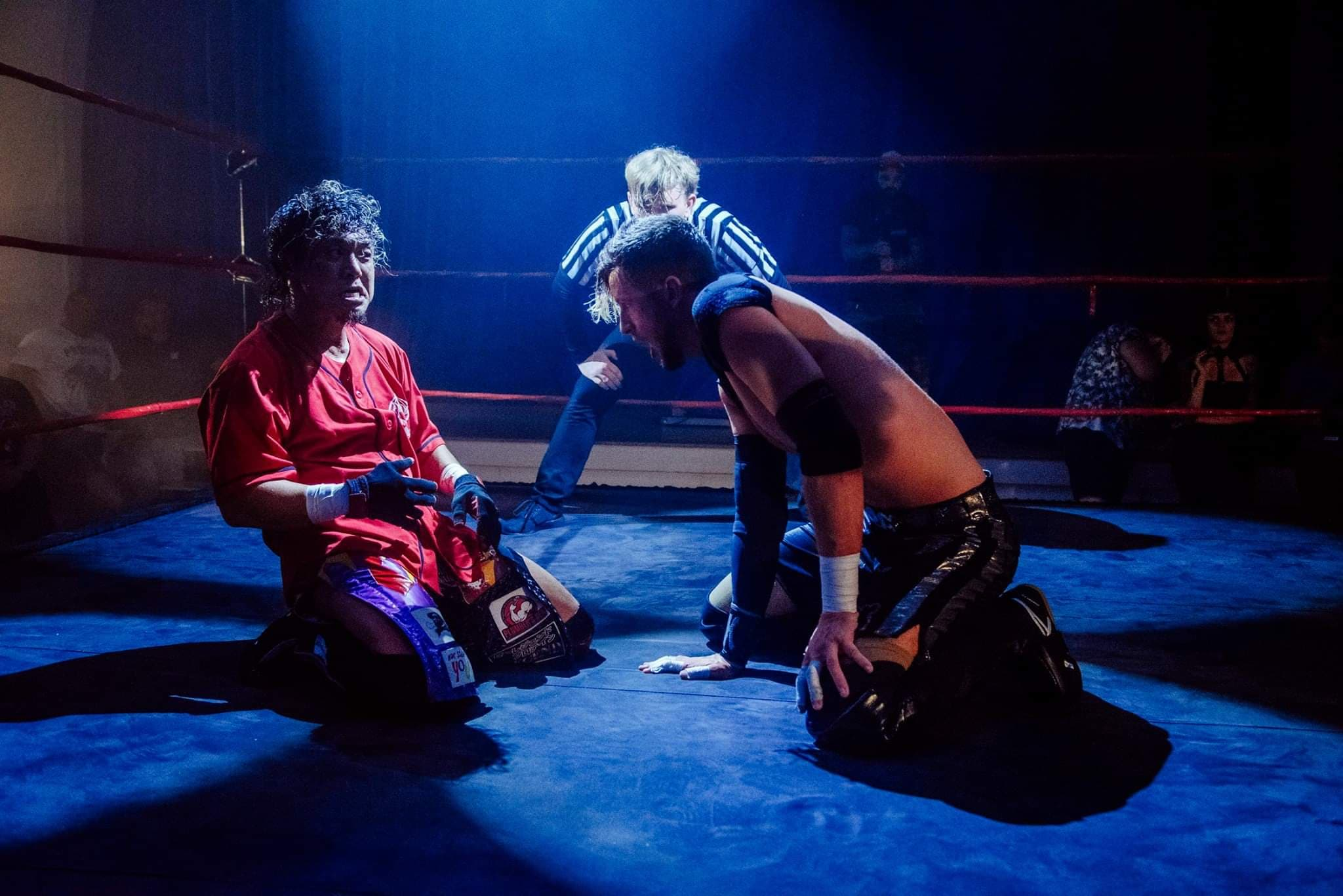 Tanizaki and Chris Brookes battled at International Waters 2018 (photo: The Head Drop)