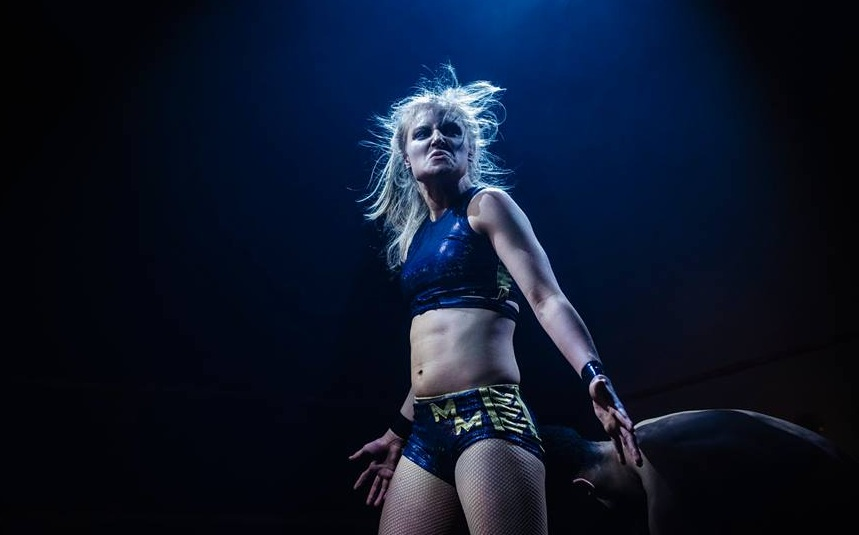 Millie McKenzie's devastating offense has earned her the 'Suplex Machine' reputation (photo: The Head Drop)