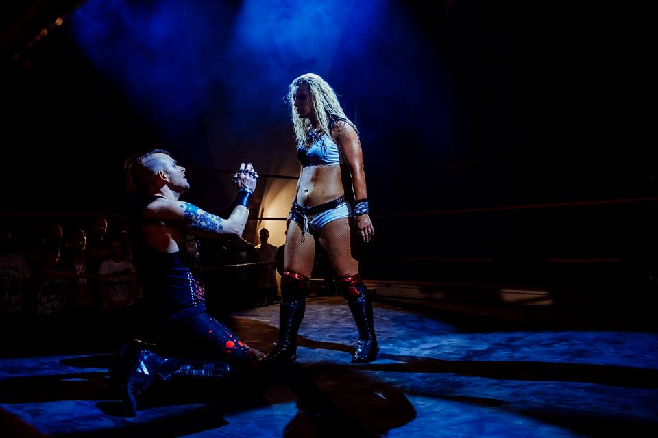 Toni Storm makes Jimmy Havoc beg for mercy in her RIPTIDE debut (photo: The Head Drop)