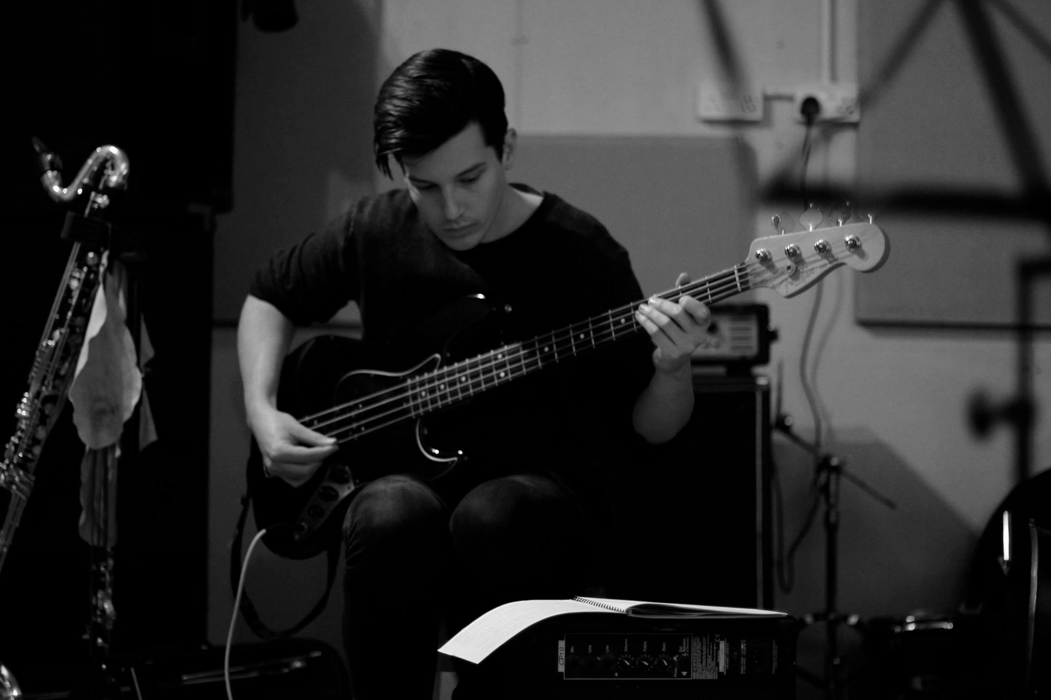 Gene Taylor   Gene is our trusty bassist.
