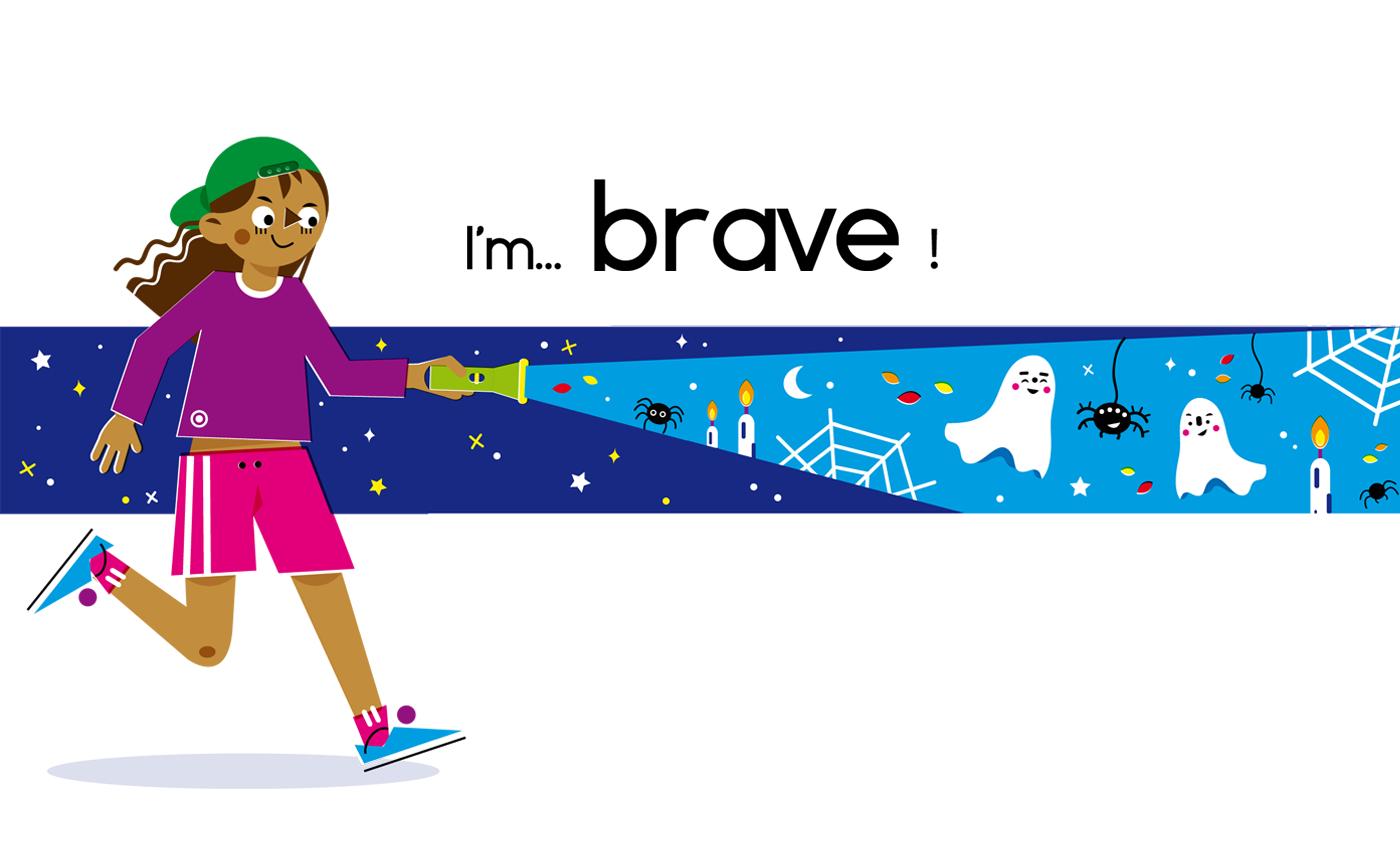 Brave - Vector Illustration © Emeline Barrea, All rights reserved