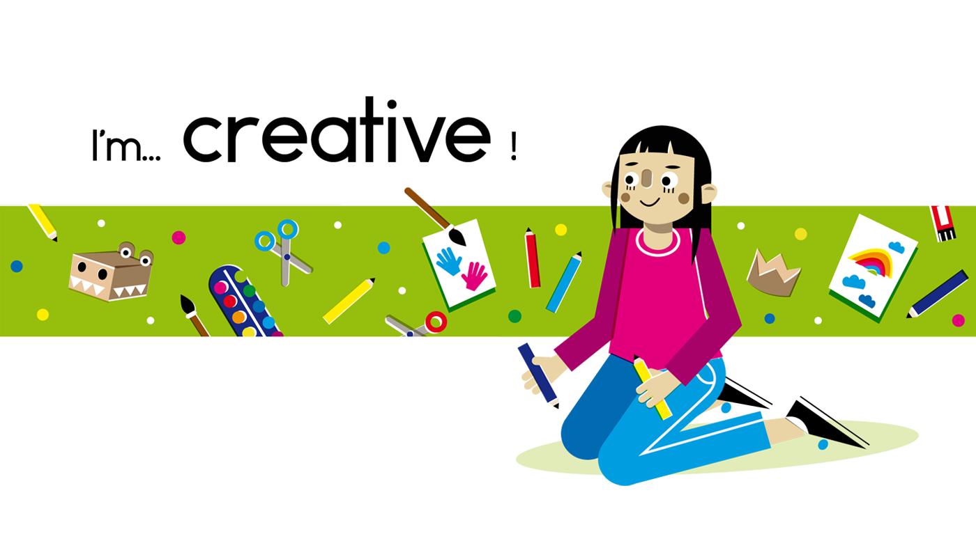 Creative - Vector Illustration © Emeline Barrea, All rights reserved