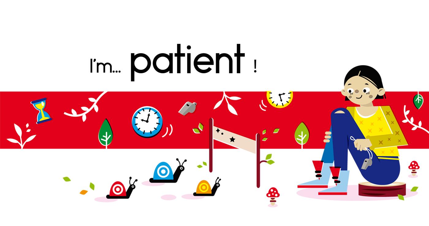Patient - Vector Illustration © Emeline Barrea, All rights reserved