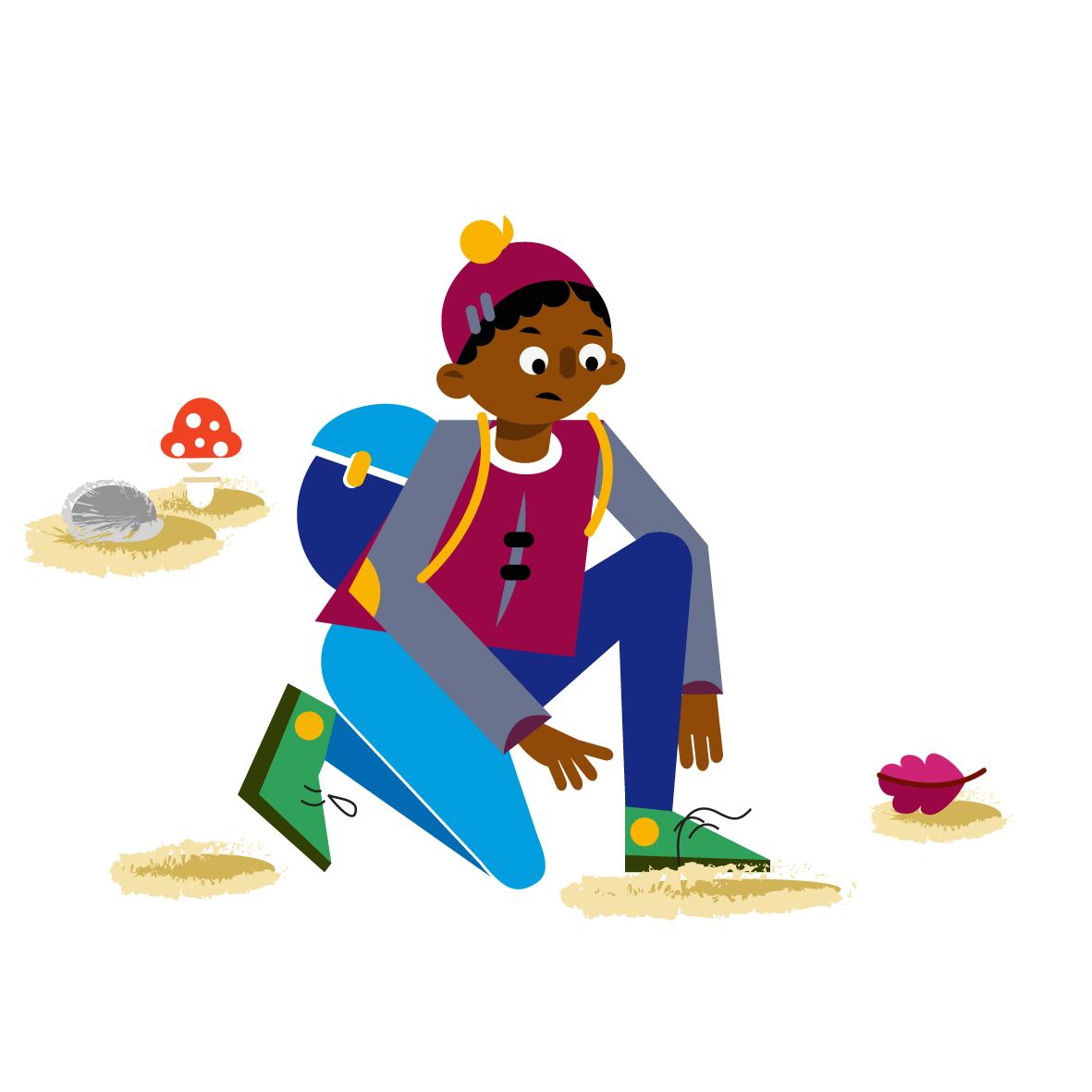 Boy Character design - Vector Illustration © Emeline Barrea, All rights reserved