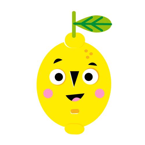 Lemon - Vector Illustration © Emeline Barrea, All rights reserved