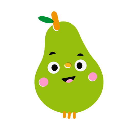Pear - Vector Illustration © Emeline Barrea, All rights reserved