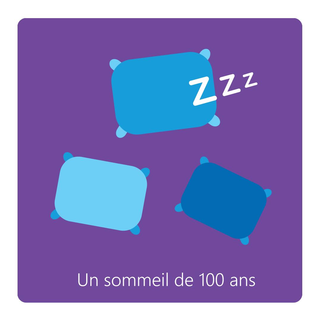La belle au bois dormant - Vector Illustration © Emeline Barrea, All rights reserved