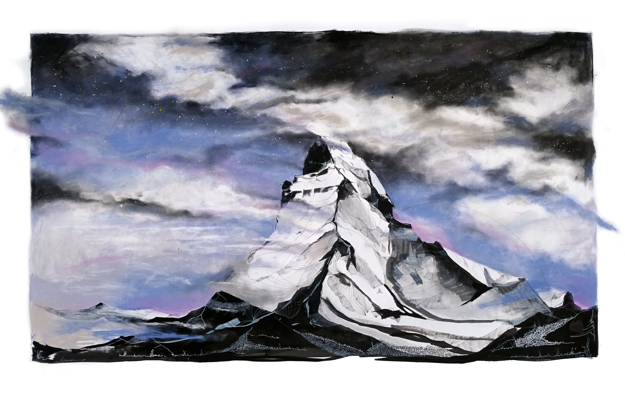 Matterhorn, Switzerland SOLD