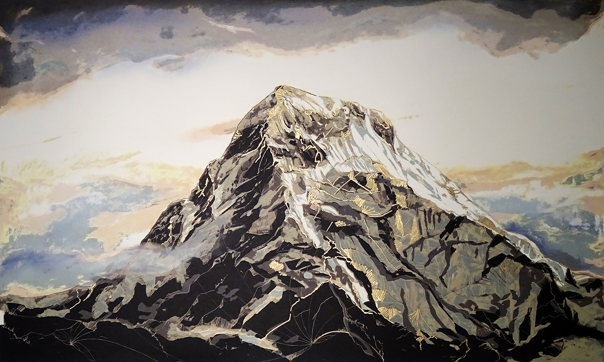 Mount Everest Screenprint AVAILABLE