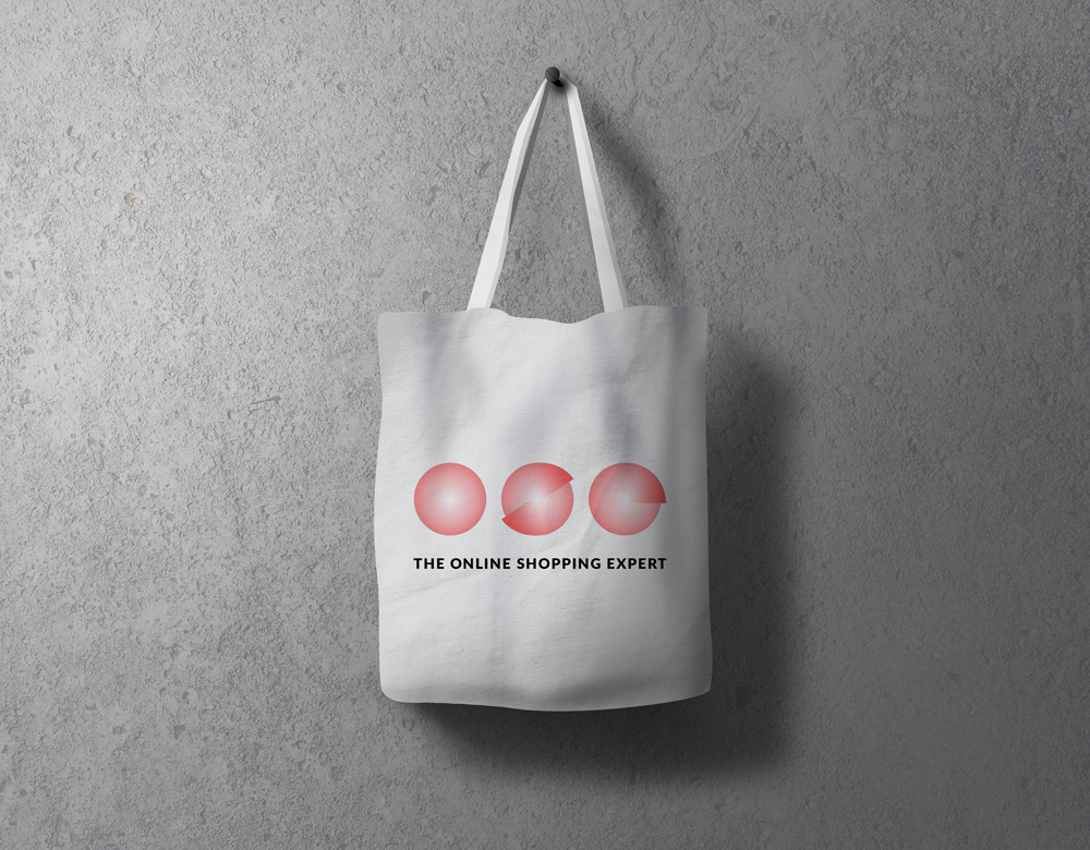 The Online Shopping Expert tote bag