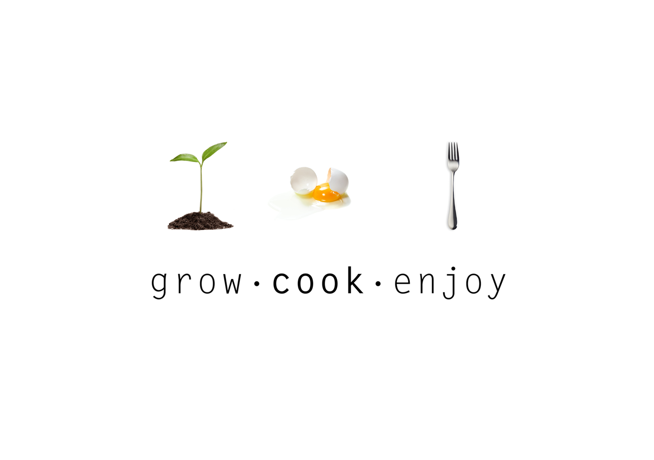 Grow Cook Enjoy logotype