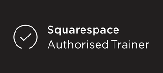 Squarespace Authorised Trainer badge