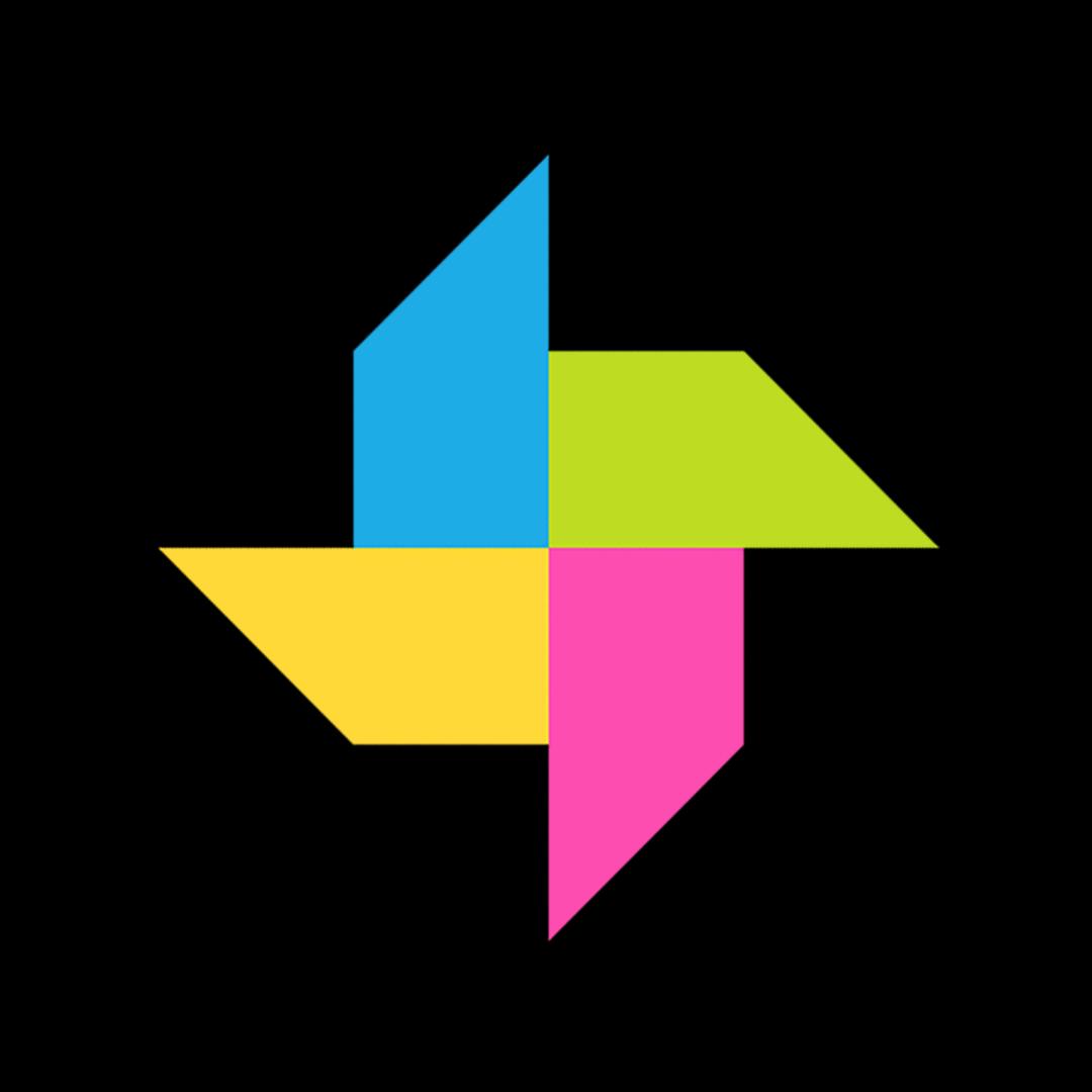 Colourful studio icon
