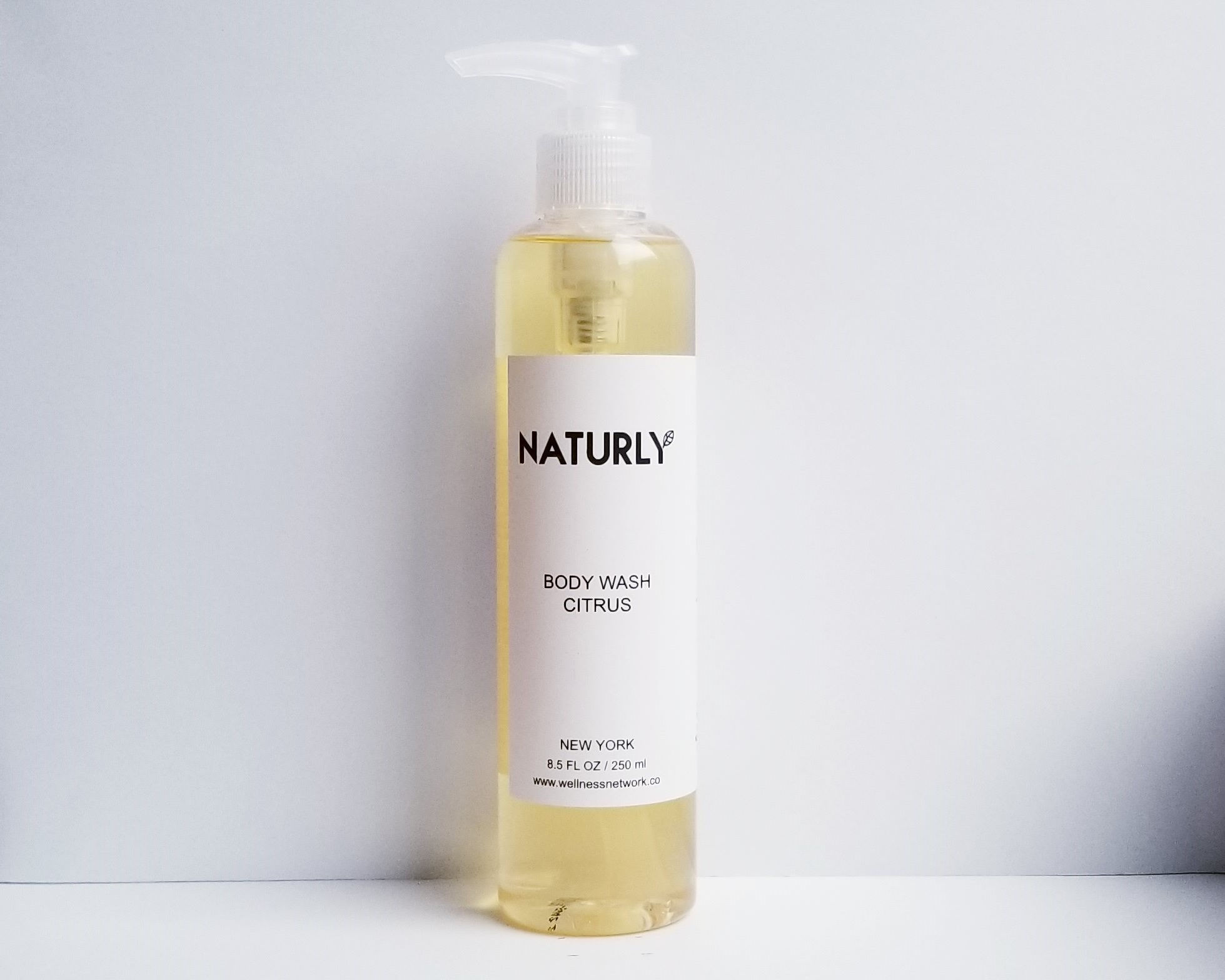 Body Wash with lemon & grapefruit oils, anti-oxidant vitamin E - $28