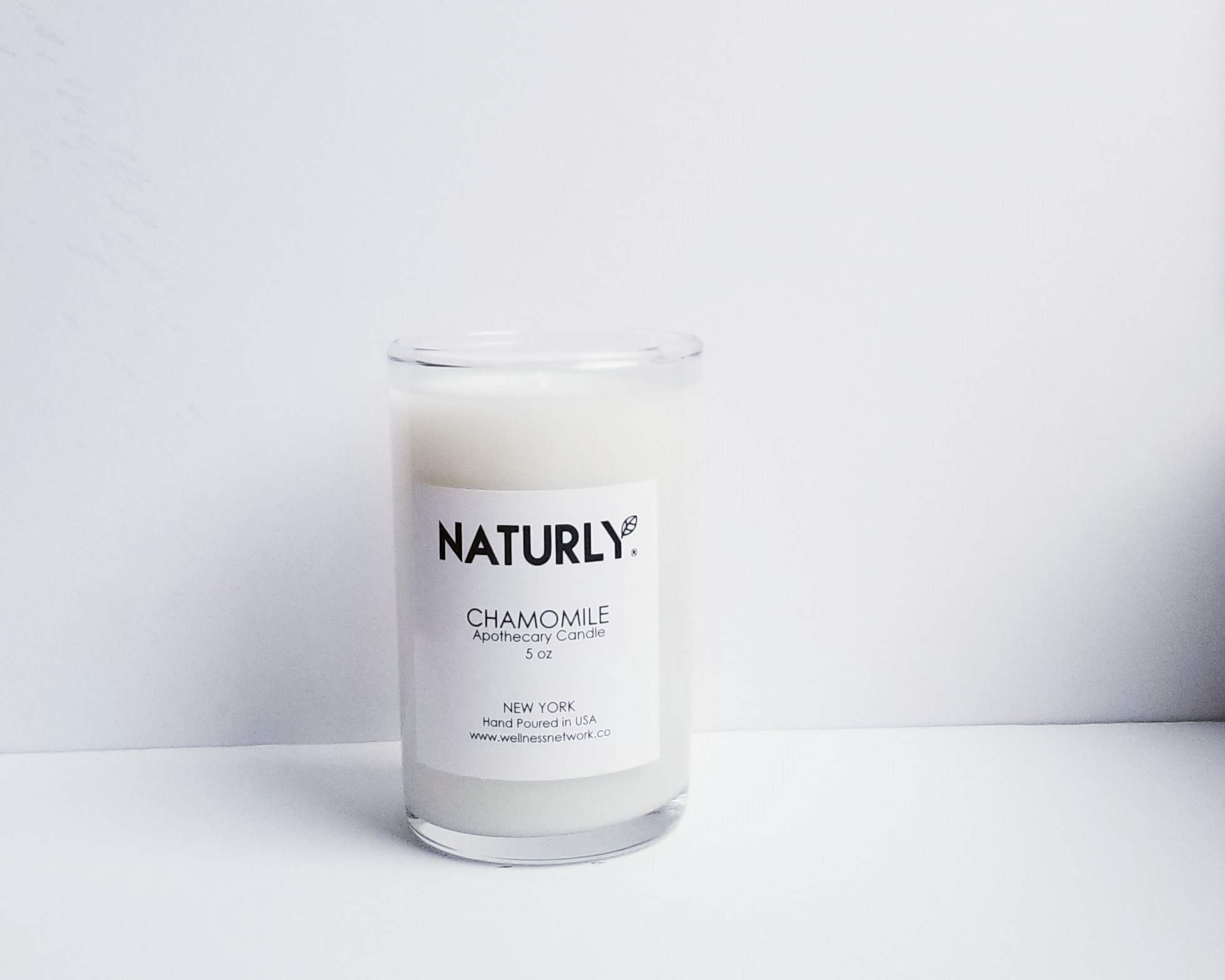 Candle: coconut wax, chamomile oil - $24